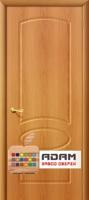 Межкомнатная дверь с ПВХ-пленкой Неаполь ПГ, миланский орех