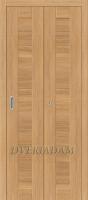 Межкомнатная складная дверь с эко шпоном Порта-21 Anegri Veralinga