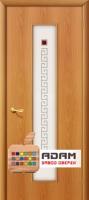 Межкомнатная ламинированная дверь Тиффани-1 миланский орех (21 Х)