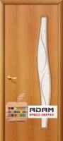 Межкомнатная ламинированная дверь 4С6ф миланский орех (6 Ф)