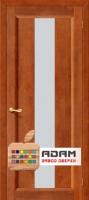 Межкомнатная дверь из Массива СОСНЫ Вега 18 ПО темный орех