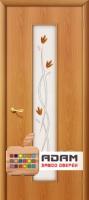 Межкомнатная ламинированная дверь Тиффани-2 миланский орех (22 Х)