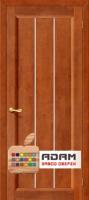 Межкомнатная дверь из Массива СОСНЫ Вега 19 ПГ темный орех