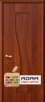 Межкомнатная ламинированная дверь Лиана ПГ итальянский орех (11 Г)
