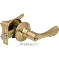 Дверная ручка-защелка 891 матовое золото
