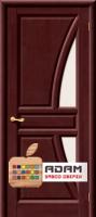 Межкомнатная дверь из массива сосны Моне ПО махагон