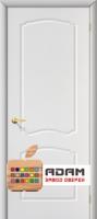Межкомнатная дверь с ПВХ-пленкой Альфа ПГ, белая