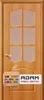 Межкомнатная дверь с ПВХ-пленкой Лидия ПО, миланский орех