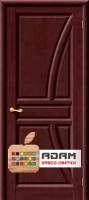 Межкомнатная дверь из массива сосны Моне ПГ махагон