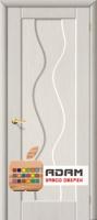 Межкомнатная дверь с ПВХ-пленкой Вираж ПГ, беленый дуб