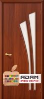 Межкомнатная ламинированная дверь 4С4 итальянский орех (4 С)