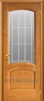 Межкомнатная дверь из массива модель АЛЕССИО ПО ДУБ