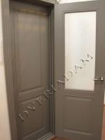 Межкомнатная окрашенная дверь Блюз пг мокко