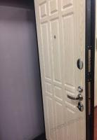 Входная дверь GROFF P2-205 П-25 Беленый Дуб (серия Premium)