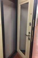 Входная дверь GROFF P2-206 П-25 Беленый Дуб (серия Premium)