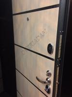Входная дверь Т2-204 Cappuccino Crosscut