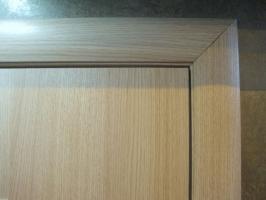 Межкомнатная ламинированная дверь 4Г2, беленый дуб (2 Г)