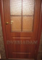 Межкомнатная дверь Палитра-Адам ПО итальянский орех