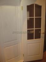 Межкомнатная  дверь Палитра-Адам ПГ белая