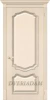 Межкомнатная шпонированная дверь Премьера ПГ Ваниль
