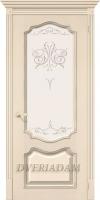 Межкомнатная шпонированная дверь Премьера ПО Ваниль