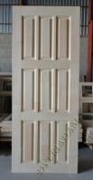 Деревянная дверь из массива сосны АРБАТ  ПДГ