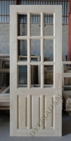 Деревянная дверь из массива сосны АРБАТ  ПДЧ