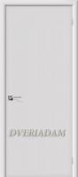Межкомнатная окрашенная дверь Соул пг Белый (эмаль)