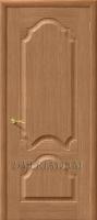 Межкомнатная шпонированная дверь Афина ПГ дуб