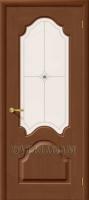 Межкомнатная шпонированная дверь Афина ПО орех