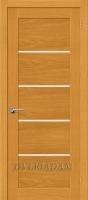 Межкомнатная шпонированная дверь Токио-5 ПЧО Дуб Натуральный