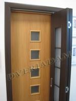 Ламинированная Дверь-книжка 2С ск Венге