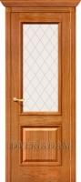 Межкомнатная шпонированная дверь Шервуд ПО золотой дуб