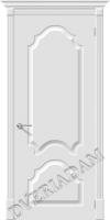 Межкомнатная окрашенная дверь Скинни-32 Whitey