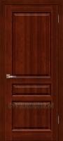 Дверь Венеция ОКА (цвет махагон) глухая