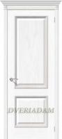 Межкомнатная шпонированная дверь Шервуд ПГ белый дуб