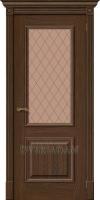 Межкомнатная шпонированная дверь Вуд Классик-13 Golden Oak