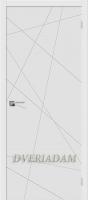 Межкомнатная окрашенная дверь Граффити-5 белый