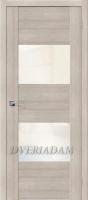 Межкомнатная дверь с Эко шпоном VG2 Cappuccino Veralinga White Pearl