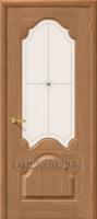 Межкомнатная шпонированная дверь Афина ПО дуб