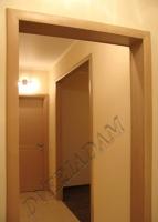 Дверной портал ПВХ миланский орех