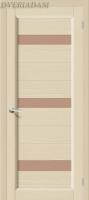 Межкомнатная дверь из Массива Леон ПЧО ваниль