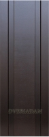 Межкомнатная шпонированная дверь Вертикаль-2 ПГ венге