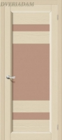 Межкомнатная дверь из Массива Леон ПО ваниль