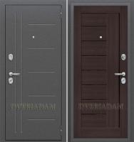 Стальная дверь Оптим Проф Wenge Veralinga/Black Star