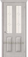 Межкомнатная дверь из Массива М15 ПО Белый воск