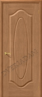 Межкомнатная шпонированная дверь Аура ПГ дуб
