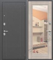 Стальная дверь Оптим Флэш Cappuccino Veralinga/Reflex