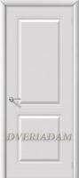 Межкомнатная эмалированная дверь Бриз ПГ Белый