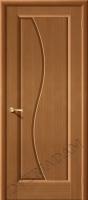Межкомнатная шпонированная дверь Руссо ПГ орех файн-лайн